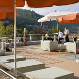 Sonnen-Terrasse im Wellnesshotel Rothfuss in Bad Wildbad